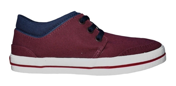 Zapatillas Topper West Urbanas Casual Adulto Bordo
