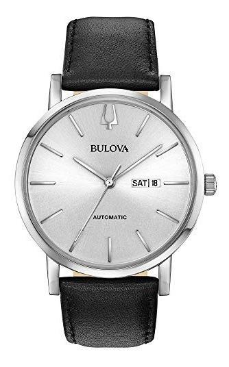 Reloj Bulova Clausico 96c130 Automático Nuevo Original