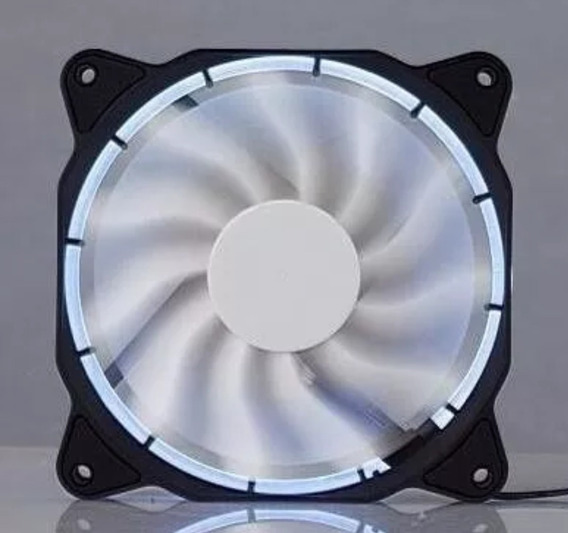 Kit 2 Unidades, Ventilador / Fan Dex Com Leds. 120x120mm