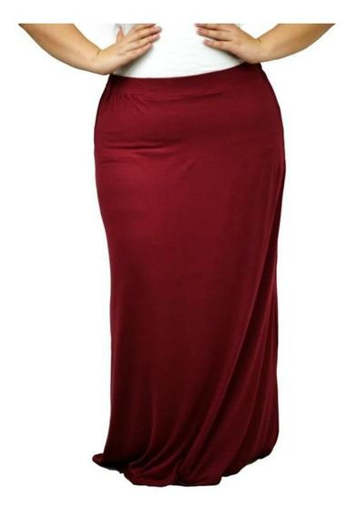 Maxi-falda Moderna Modelo #6004 Tallas Extras 1x 2x 3x