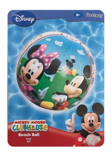 Pelota Infantil Playa Pileta Disney Mickey Inflable
