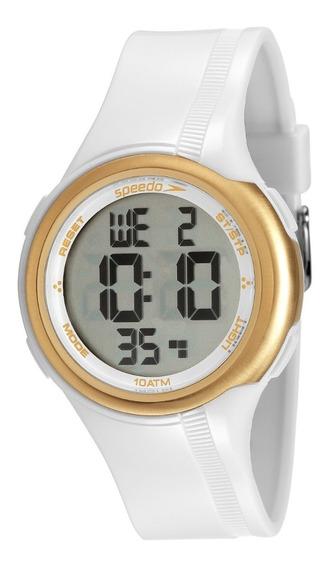 Relógio Speedo Digital Feminino Branco 80587l0evnp1