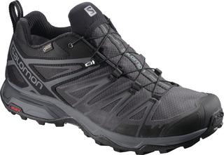 Calzado Masculina Salomon - X Ultra 3 Gtx Negro - Trail Runn