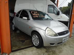 Ford Ka 1.6 -ano: 2003/2003 C/ Ar Condicionado + Dir. Hidr.