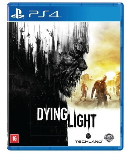 Dying Light Ps4 Usado Mídia Física