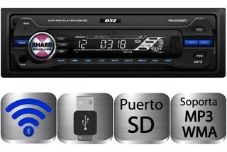 Stereo Bluetooth B52 Rm 2008 Bt 4 X 52 Usb Sd Radio Rca Aux