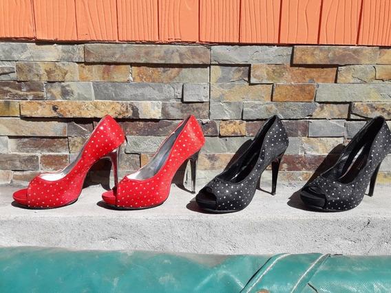 2 X 1 Zapatos Rojos Y Negros Un Regalo¡