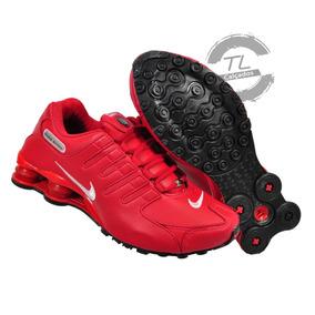 Tênis Nike Sxhox Nz Couro Original Vietnan Vermelho Corrida