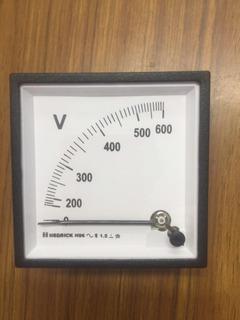Voltímetro 0-600 Marca Hedrick