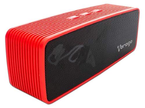 Imagen 1 de 2 de Vorago Bocina Bluetooth Portatil Manos Libres Bsp-100 Roja