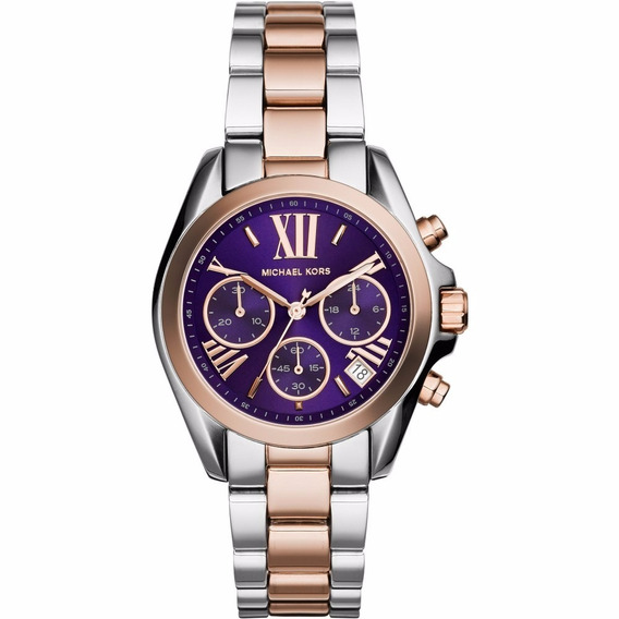 Relógio Michael Kors Azul Misto Mk6074
