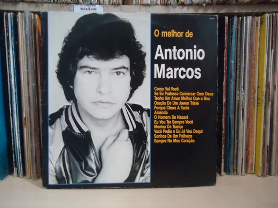 Lp Antonio Marcos-o Melhor De / 1992 / Rca