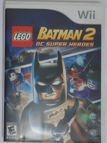 Lego Batman  2     Cd Super Heroes Wii Mídia Física Seminovo