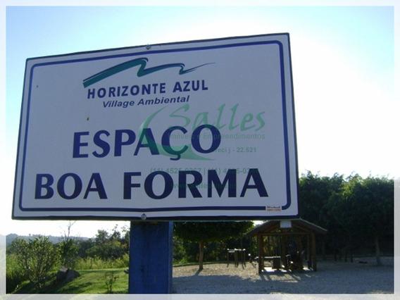 Terreno Em Itupeva A Venda No Condomínio Horizonte Azul - 3706