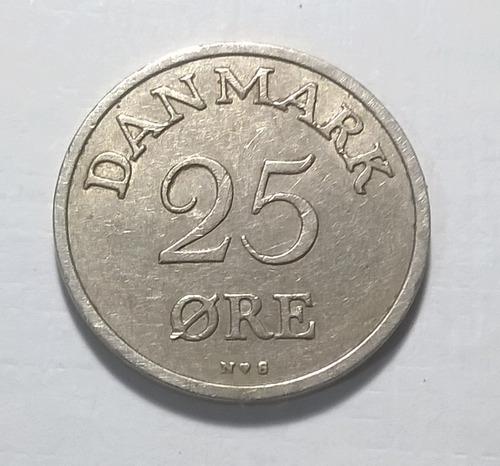Dinamarca 25 Ore 1953 - Frederik Ix - Km#842.1