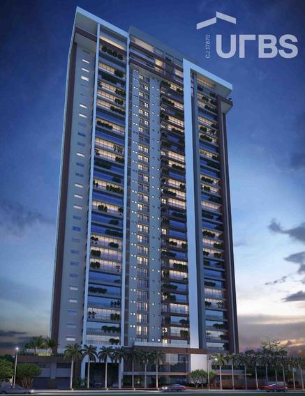 Apartamento 3 Suítes Ao Lado Clube Engenharia À Venda, 171 M² Por R$ 940.000 - Setor Marista - Goiânia/go - Ap3044