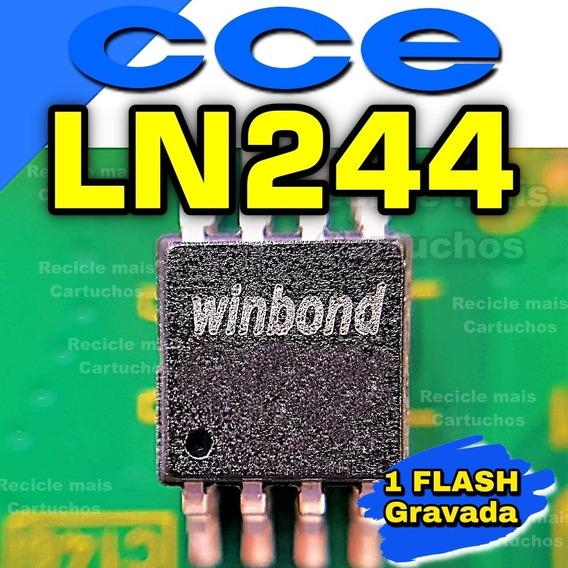 Memoria Flash Eeprom Tv Cce Ln244w Chip Gravado Original
