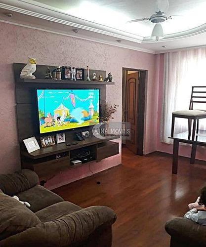 Apartamento Com 2 Dormitórios À Venda, 55 M² Por R$ 230.000,00 - Centro - São Bernardo Do Campo/sp - Ap2023