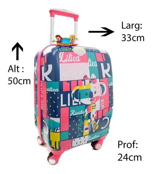 Mala De Viagem Escolar Lilica Ripilica Active 6710201