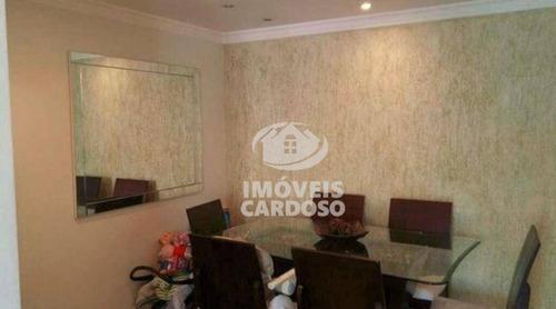 Imagem 1 de 17 de Apartamento Com 3 Dormitórios À Venda, 67 M² Por R$ 320.000 - Parque Continental - São Paulo/sp - Ap0318