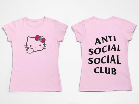 Remera Anti Social Social Club Edición Especial+gorra Gratis