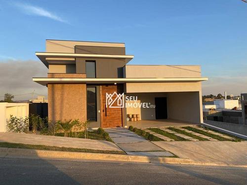 Imagem 1 de 30 de Casa Com 3 Dormitórios À Venda, 217 M² Por R$ 1.300.000,00 - Condomínio Reserva Saint Paul - Itu/sp - Ca2370