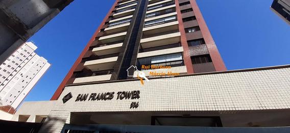 Apto. Ed. San Francis Tower Com 3 Suítes Para Alugar, 165 M² Por R$ 2.500/mês - Centro - Londrina/pr - Ap0059