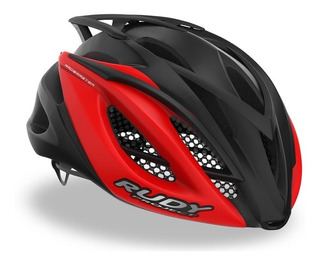 Capacete Ciclismo Rudy Project Racemaster Black Red Bike Mtb