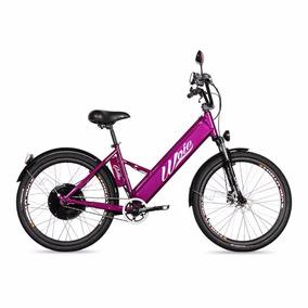 Bicicleta Elétrica Motorizada Woie Golden 48v 350w - Violeta