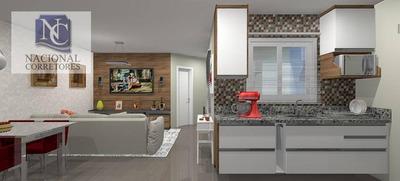 Apartamento Residencial À Venda, Vila Pires, Santo André. - Ap6696