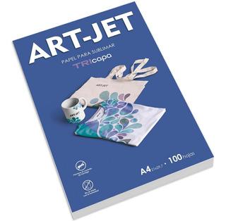 Papel Para Sublimación Art-jet® Tricapa A4 100 Hojas.