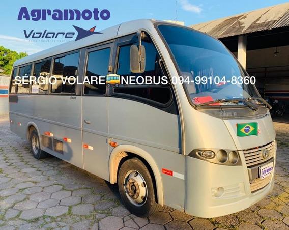 Micro Ônibus Volare V8 Executivo Cor Prata Ano 2012/2012