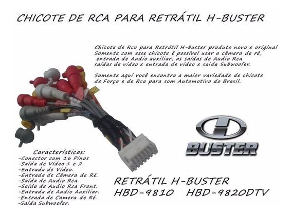 Cabo Rca 100% Original Para Dvd H-buster Hbd-9810 Hbd 982av