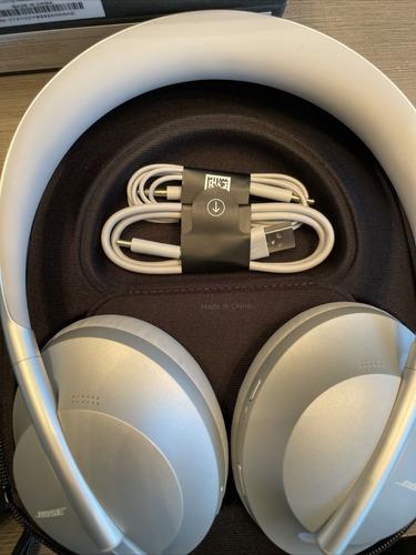 Headphone Bose 700 Bluetooth Prata Noise Canceling
