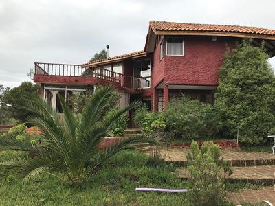 Vendo Parcela En Algarrobo Con Casa Grande Y Piscina
