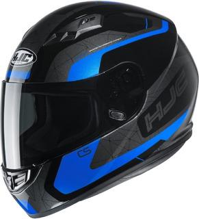 Casco Para Moto Hjc Cs-15 Dosta Azul Certificado Europeo