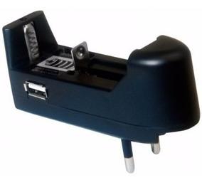Carregador Bateria 3.7v Lítio 14500 18650 Teck Hobby