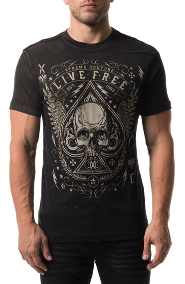 Remera Xtreme Couture Deuces Wild