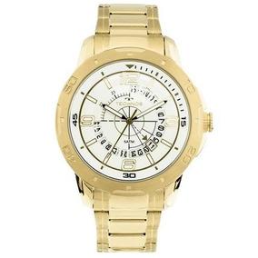 Relógio Technos Masculino Dourado 2315ack/3b