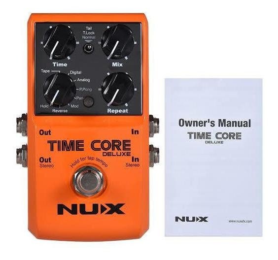 Pedal Time Core Deluxe Nux Delay