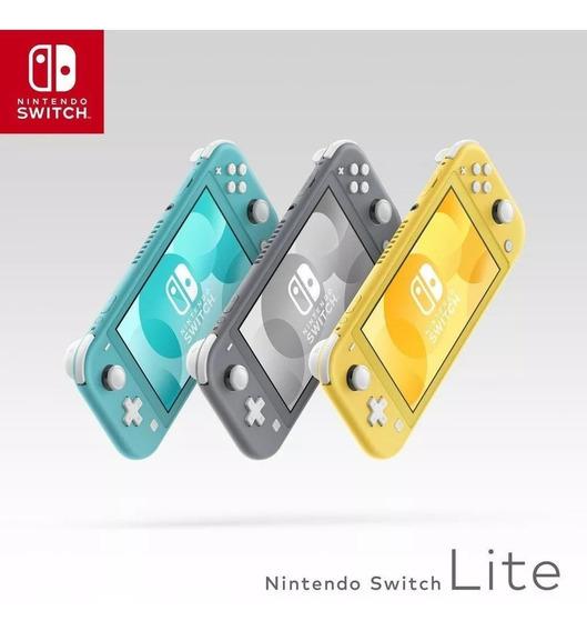 Nintendo Switch Lite 32gb Varias Cores Novo Envio Imediato
