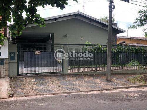 Casa Comercial Térrea Nova Campinas Locação - Ca00707 - 68923565