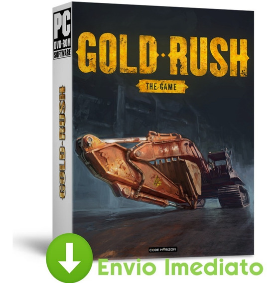 Gold Rush Pc The Game Parkers Edition + 2 Dlcs Brinde 2019