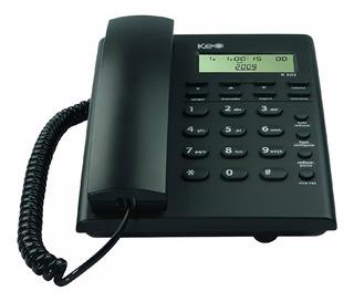 Teléfono Alambrico Mesa K302 Con Identificador Llamadas