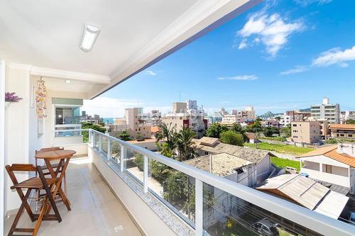 Imagem 1 de 14 de Lindo Apartamento 3 Quartos Em Bombinhas De Frente Troco