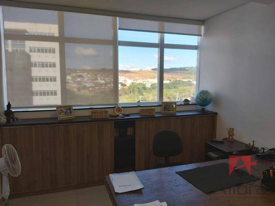 Sala Para Alugar, 40 M² Por R$ 1.540/mês - Euroville Office Premium- Bragança Paulista/sp - Sa0189