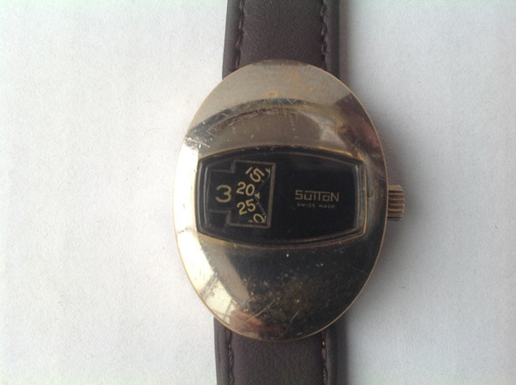 Reloj Digital Sutton Suizo Cuerda Para Dama. Servicio Recien