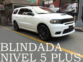 Dodge Durango Rt 2017 Blindada Nivel 5+ Blindaje Blindados