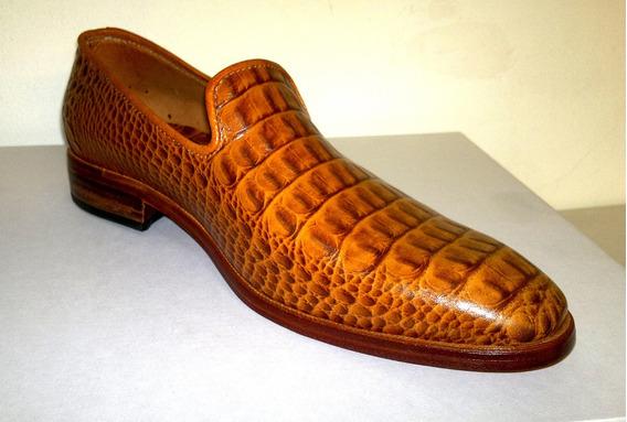 Zapatos Rojos Crocco Exclusivos De Cuero Argentino