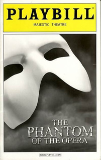 The Phantom Of The Opera - Playbill Majestic Theatre